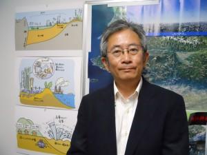 福和教授は各地で市民向けの防災・減災関連の講演も多数行っている。教科書には載っていない日本史としての地震の歴史を、誰もがよく知る歴史上の人物や出来事に絡めて話してくださるので、とても面白くてわかりやすい
