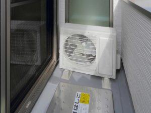 室外 台風 エアコン 対策 機